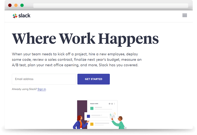 Slack Integration with Project Collaboration Too