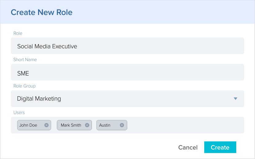 Create New Role