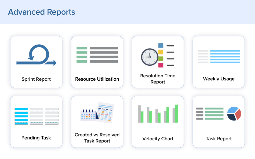 Proactive decision making with real-time project reports