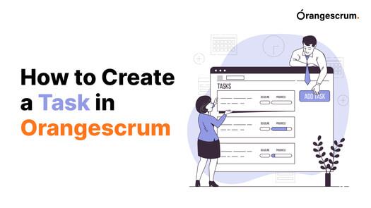 Orangescrum Create Task video