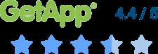Orangescrum rating on GetApp